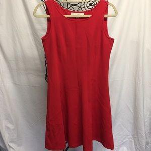 LOFT sleeveless A-Line dress